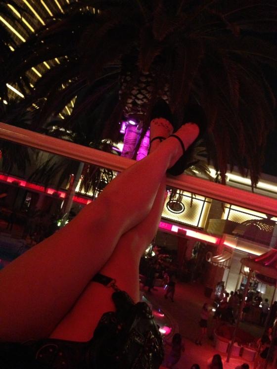 stripper at nightclub
